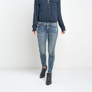 """Silver Jeans """"Aiko mid ankle skinny"""""""